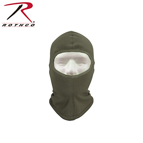 One Hole Polar Fleece Balaclava, Foliage Green