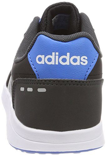 adidas Vs Switch 2 K, Zapatillas de Gimnasia Unisex Niños Negro (CORE BLACK/GREY TWO F17/BRIGHT BLUE)