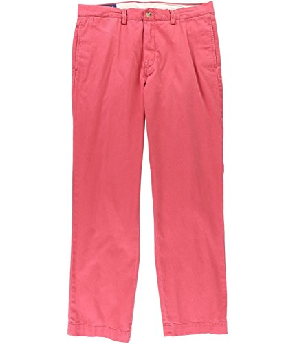 Ralph Lauren Men's Classic-Fit Cotton Chino Pants (33X30, (Ralph Lauren Pant Suit)