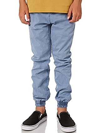 Swell Boys Boys Cartel Pant - Teens Cotton Elastane Blue