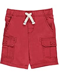 """Carter's Little Boys' Toddler """"Twill Solid"""" Cargo Shorts"""