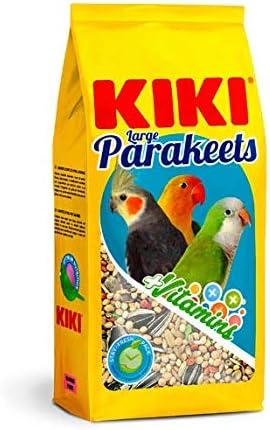 KIKI MIXTURA COTORRITAS, NINFAS Y AGAPORNIS 1KG