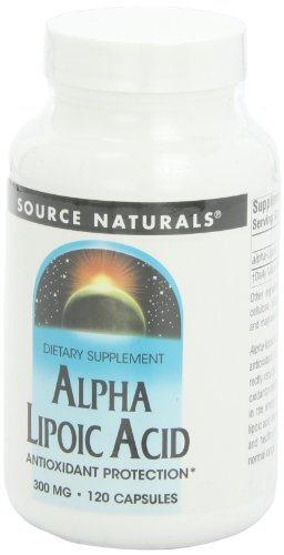 Source Naturals Alpha Lipoic Acid Antioxidant Protection 300mg - 120 Capsules by Source Naturals (Image #7)