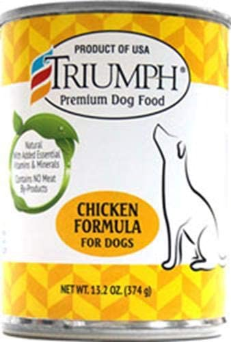 Triumph Chicken Canned Dog Food, Case Of 12, 13.2 Oz.
