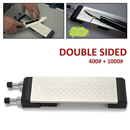 Portable Double Side Diamond Sharpening Stone Kitchen Knife Grinding Whetstone for Knives Sharpener Grinder Honing Tools