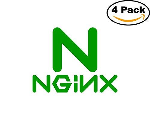 Nginx 1 4 Stickers 4X4 inches Car Bumper Window Sticker Decal