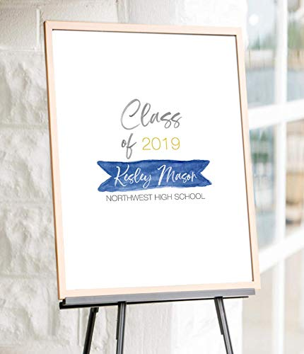 Graduation Signature Sign, Personalized Graduation Signature Poster, Graduation Guestbook, Graduation Party Guest Book ()
