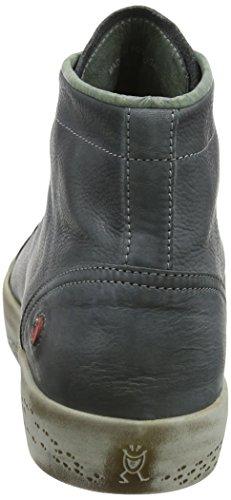 Sneaker Kip405sof A Donna militar 001 Grau Collo Alto Softinos vqwU56T6