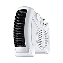 Wgwioo Portable Space Heater, Home and Office Desktop Heater Cool Air Function & Adjustable Thermostat