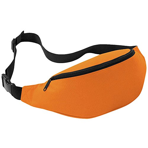 Perman Unisex Outdoor Sports Running Oxford Solid Color Stylish Waist Pack Bag 2L -