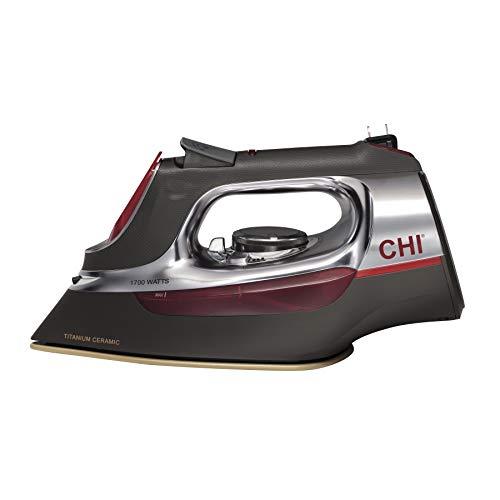 CHI 13106 Steam Iron 1700W Titanium Ceramic, Manual, Retractable Cord
