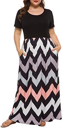 Floral Print Black Pocket Long Sleeve Casual Plus Size Maxi Dress