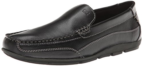 Tommy Hilfiger Men's Dathan Driving Style Loafer, Black, 11 M US