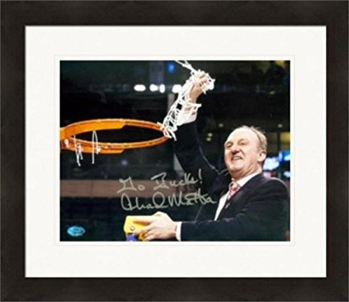 Autographed Thad Matta Photo - 8x10 Ohio State Buckeyes Basketball Coach Image #SC1 Matted & Framed - Autographed College Photos (Ohio State Framed Basketball)