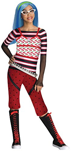 Girls - Monster High Ghoulia Yelps Child Costume Sm Halloween Costume - Ghoulia Yelps Halloween Costumes