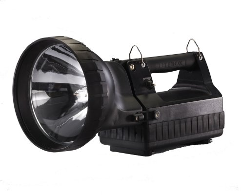 Vehicle Litebox Mount (Streamlight 45625 HID Litebox Flashlight with DC Charger, Black - 3350 Lumens)