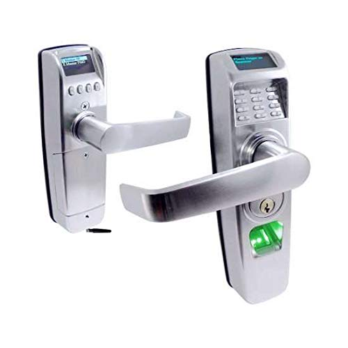 STRATTEC RTS-Z Biometric/PIN Code Lock, Z-Wave Enabled, Grade-2 Tubular Latch