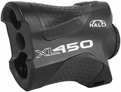 Halo XL450 Range Finder, 450 Yard laser range finder for rifle and bow hunting