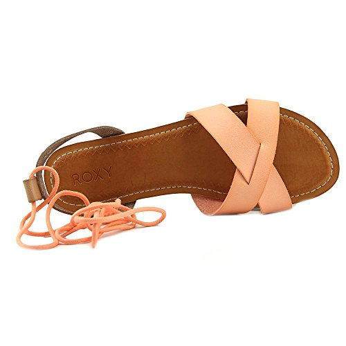 Roxy Aviv Crl Sandals Casual Tel Open Toe Flat Womens qArwRqpn7