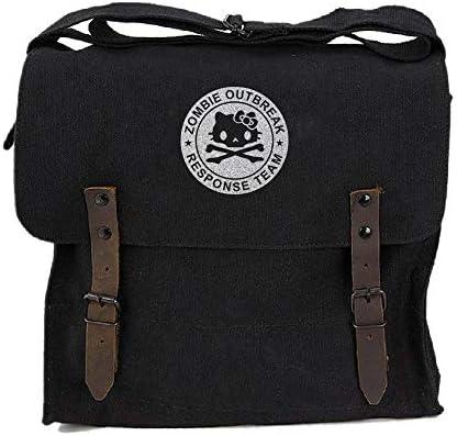 Zombie Outbreak Response Team Hello Kitty Medic Shoulder Bag Black Silver