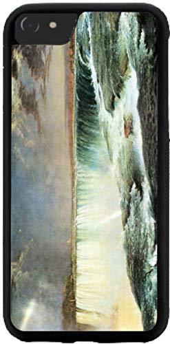 Hard Rubber Phone Case for iPhone X Max Case Cover - Frederick Edwin Church Art Niagara Falls