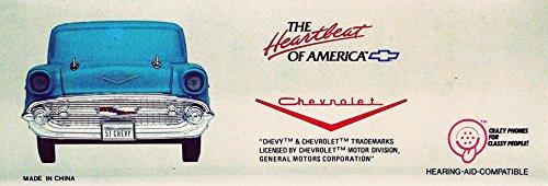 1957 CHEVY TELEMANIA TELEPHONE - Blue