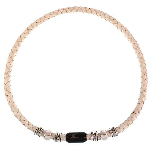 e0fe90d1e436 wavepirate® Piel de collar Charm F Blanco Negro Para Hombre De bajo costo
