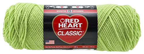 RED HEART Classic Yarn, Lime