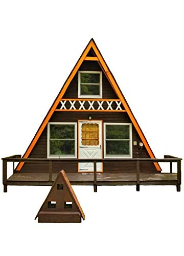 A-Frame Cabin Plans 24' x 21' Two Story A Frame Cabin for sale  Delivered anywhere in USA