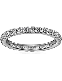 Sterling Silver Eternity Band Ring, Size 7