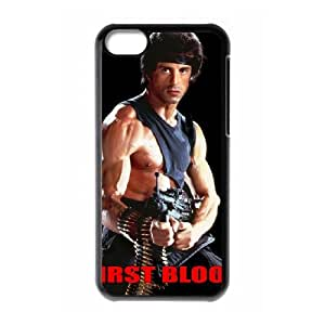 First Blood iPhone 5c Cell Phone Case Black JU0029559