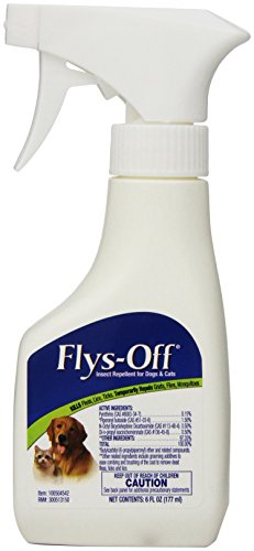Farnam Flys-Off Insect Repellent for Dogs & Cats, 6 fl (Equine Insect Spray)