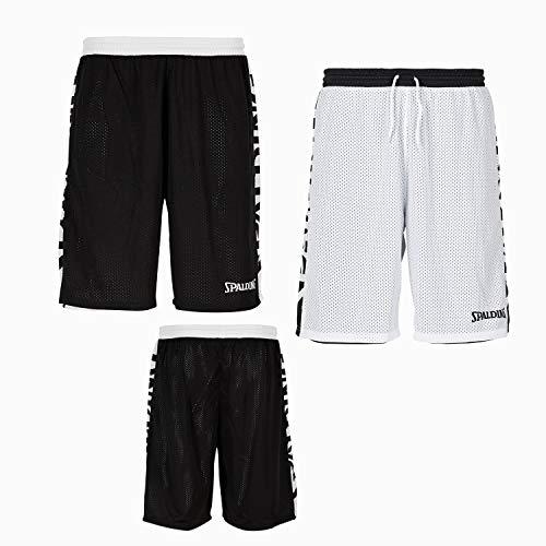 weiß Größe Reversible Spalding Farbe Shorts schwarz 4xl Essential qYZwRX4
