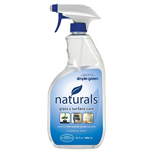 SIMPLE GREEN 3.11E+12 Glass and Surface Cleaner, 32 oz, Clear