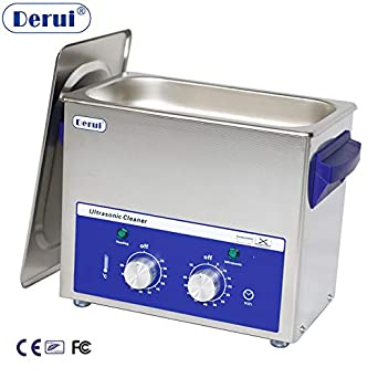 Amazon com: 3L Ultrasonic Cleaner with Heated Timer for