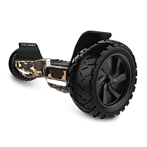HYPER GOGO 8.5 Inch Electric Smart Self Balancing Scooter Hoverboard Built-in Bluetooth Speakers and LED Lights - UL 2272