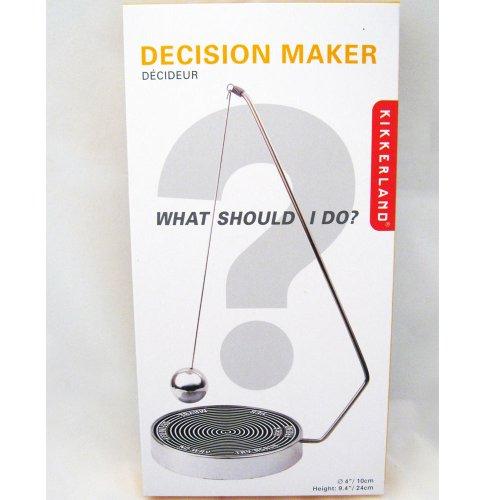 41X yeFmflL - Kikkerland Magnetic Decision Maker