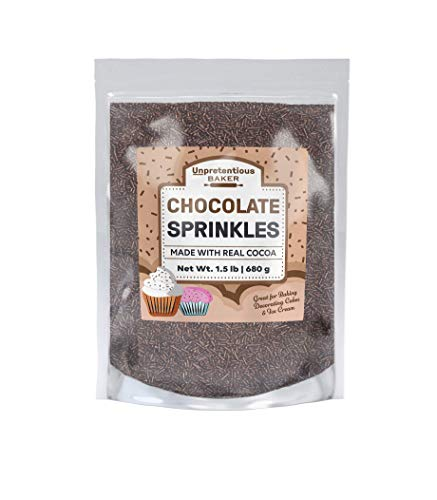 french chocolate sprinkles - 6