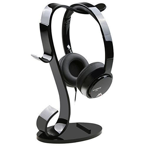 AMOVEE Pro Headphone Hanger Multifunctional Holder for Headphone / Cellphone / iPad / Watch ()