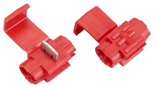 3M Scotchlok Electrical IDC 905-BULK, Double Run or Tap, Red, 22-18 AWG  (Tap), 18-14 AWG (Run), 5000 /Case