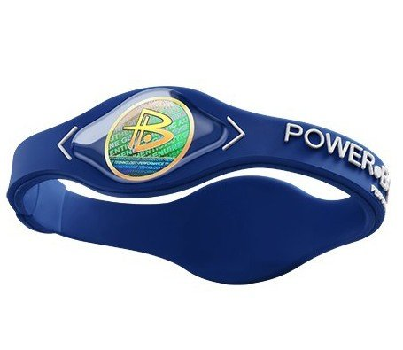 Power Balance Bracelet White Letters