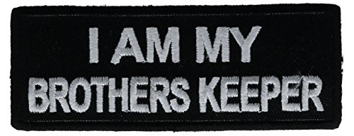 - I Am My Brothers Keeper Patch 4 inch IVANP3699