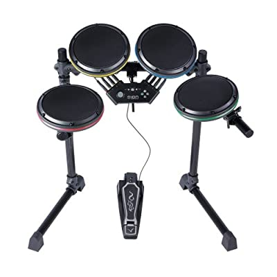 Ps3 Audio Drum Rocker Core Rock Band 2 Drum Set Without Cymbals by Ion