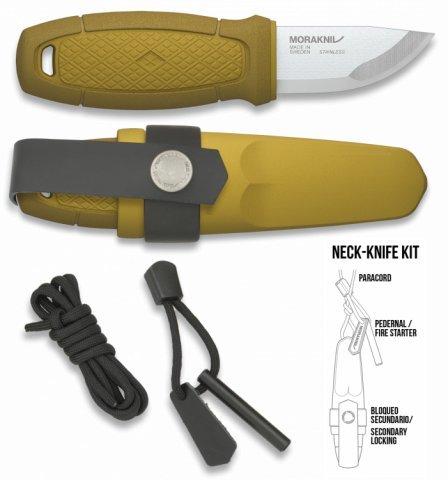 Cuchillo Morakniv Eldris con mango de goma: Amazon.es ...