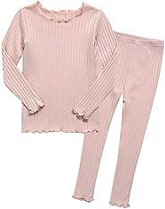 Vaenait Baby Boys Toddler Girls Pajamas 95% Modal Fabric Shirring 12M-12 Unisex Sleepwear
