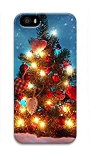 Christmas Tree 008 Iphone 5 5S Hard Protective 3D Case by Lilyshouse