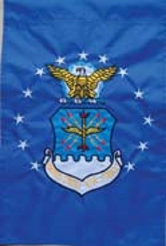(12x18 United States Air Force Garden Flag Nylon Embroidered USAF Military)