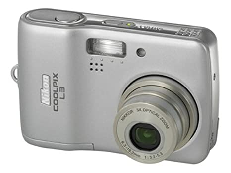 amazon com nikon coolpix l3 5 1mp digital camera with 3x optical rh amazon com Review Nikon Coolpix L3 Nikon Coolpix Digital Camera