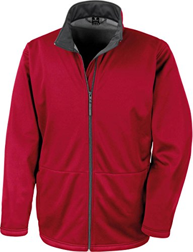 Result Softshell Jacket, Red, XL