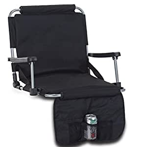 Amazon Com Picnic Plus Stadium Seat Padded Seat With